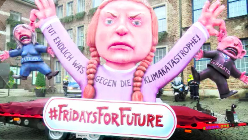 Fünf Tage Fridays for Future-Demo (Foto: SAT.1 NRW)
