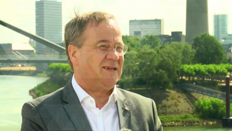 CDU nominiert Laschet für Parteivorsitz (Foto: SAT.1 NRW)