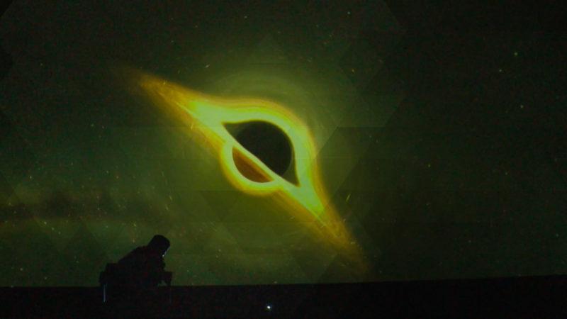 Merkur schiebt sich vor Sonne (Foto: SAT.1 NRW)