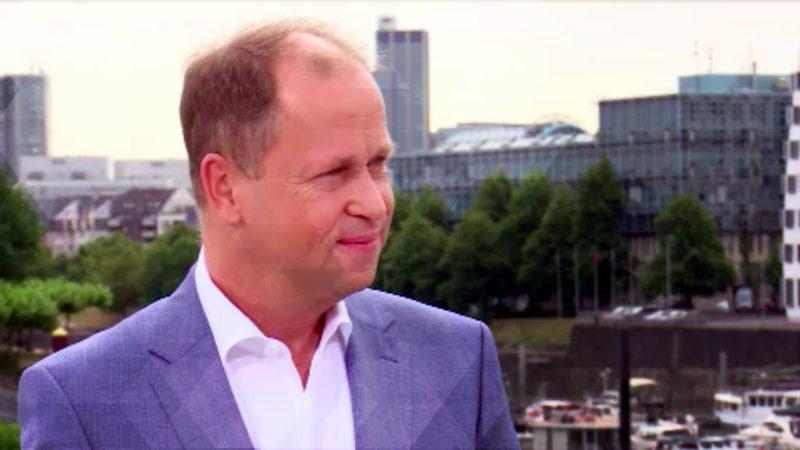 Sommerinterview mit Chancenminister Joachim Stamp, FDP (Foto: SAT.1 NRW)