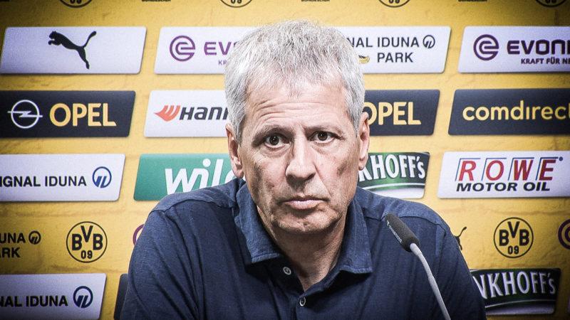 Pressekonferenz: BVB gegen Gladbach (Foto: SAT.1 NRW)