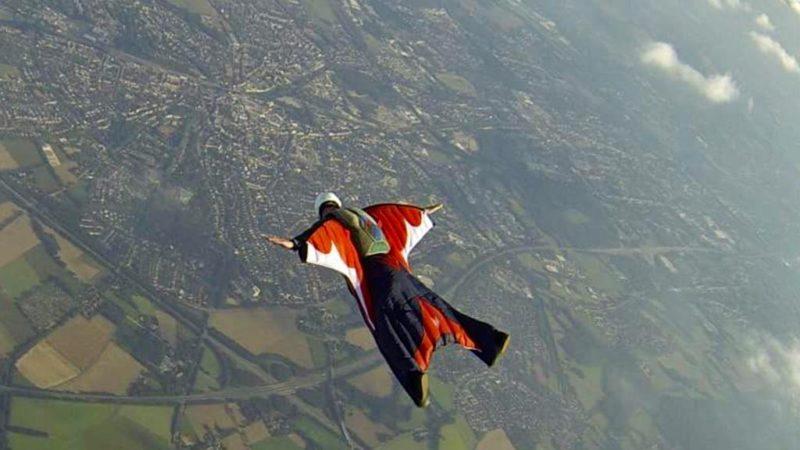 Deutsche Wingsuit-Meisterschaft (Foto: SAT.1 NRW)