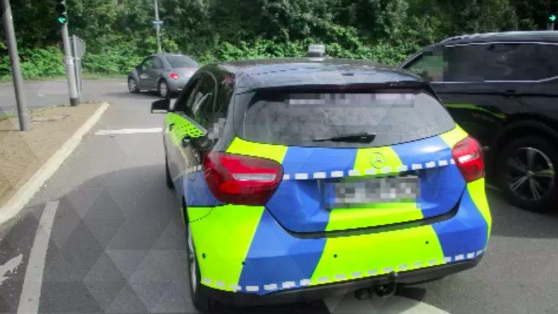 Der Fake-Polizist von Wermelskirchen (Foto: SAT.1 NRW)