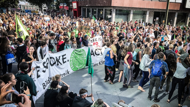 Fridays for Future Sommerkongress (Foto: SAT.1 NRW)