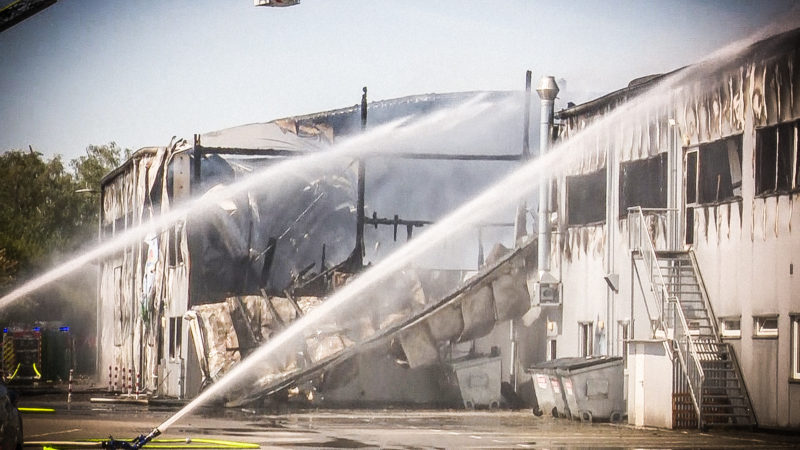 Brand in Kinderwelt (Foto: SAT.1 NRW)