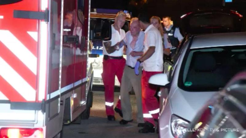 Brutaler Überfall auf Rentner (Foto: SAT.1 NRW)