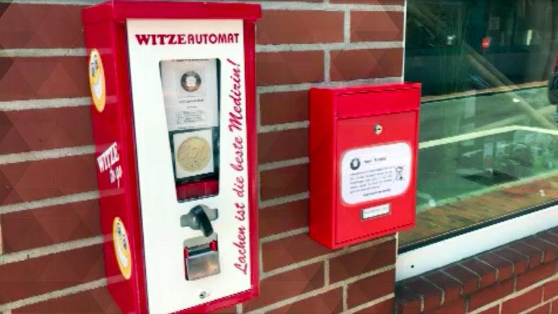 Der witzigste Automat in NRW (Foto: SAT.1 NRW)
