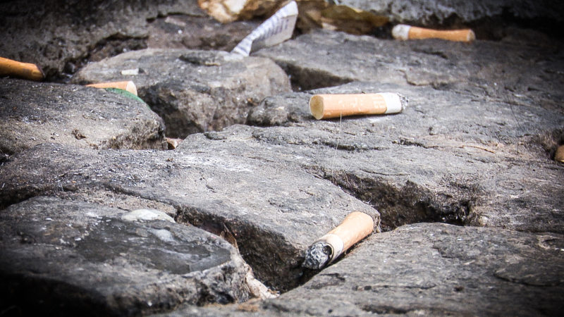 Kampf gegen Kippen-Müll (Foto: SAT.1 NRW)