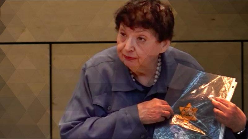 Holocaust-Überlebende spricht mit Schülern (Foto: SAT.1 NRW)