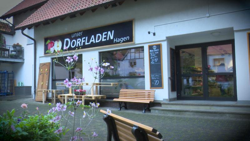 Dorfbewohner retten Laden (Foto: SAT.1 NRW)
