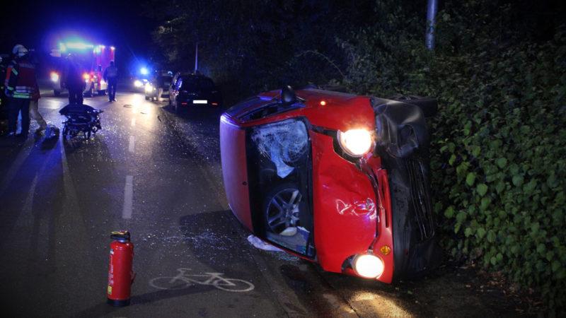Nach Unfall geflüchtet (Foto: SAT.1 NRW)