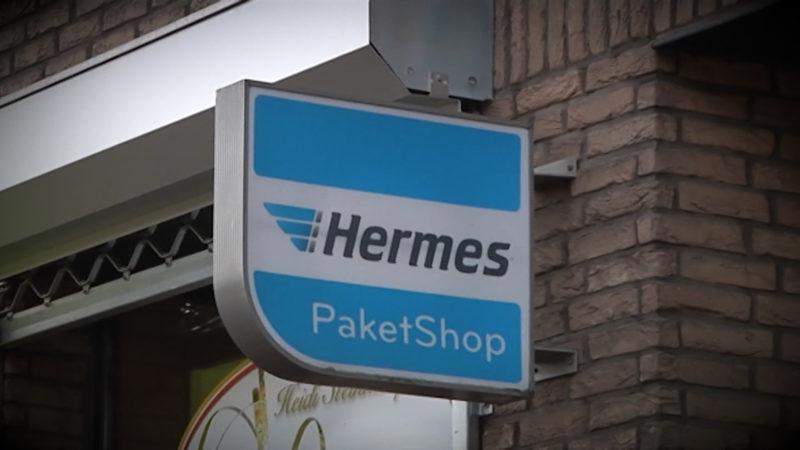Zoll durchsucht Hermes-Standorte (Foto: SAT.1 NRW)