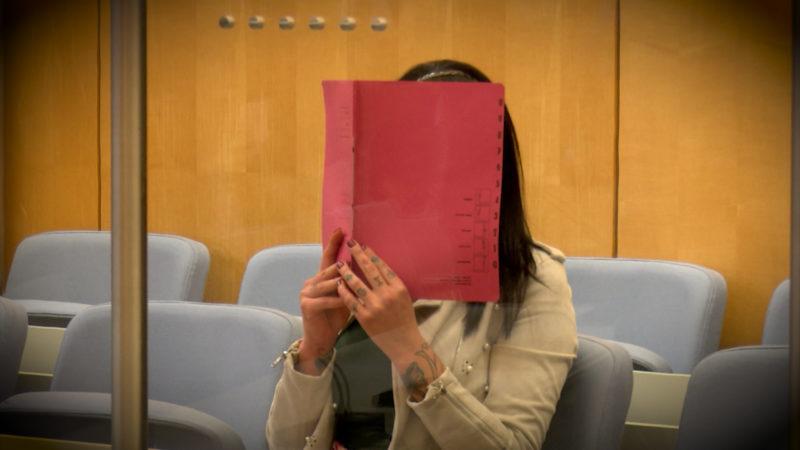 ISIS-Braut vor Gericht (Foto: SAT.1 NRW)