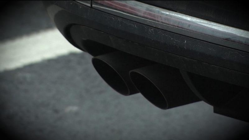 Künstlicher Stau für bessere Luft (Foto: SAT.1 NRW)