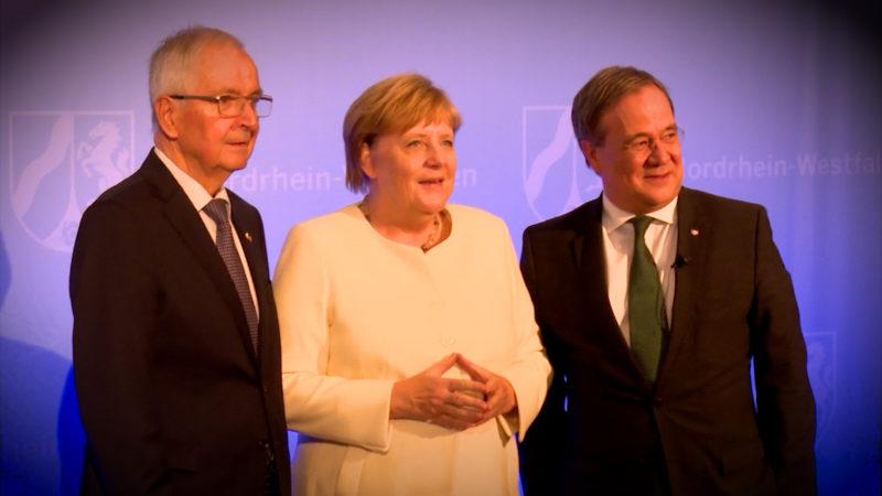 Verleihung des Staatspreises (Foto: SAT.1 NRW)