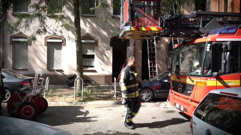 Tödliches Feuer (Foto: SAT.1 NRW)