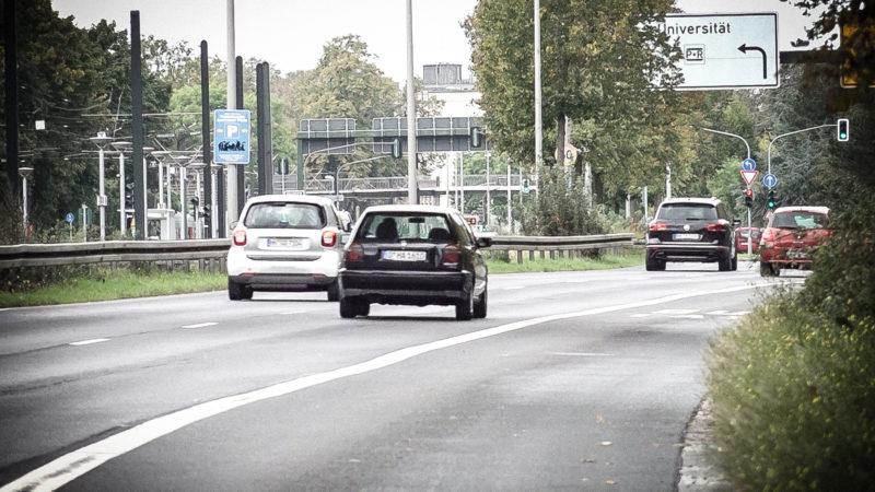 Irrsinn auf der Umweltspur (Foto: SAT.1 NRW)