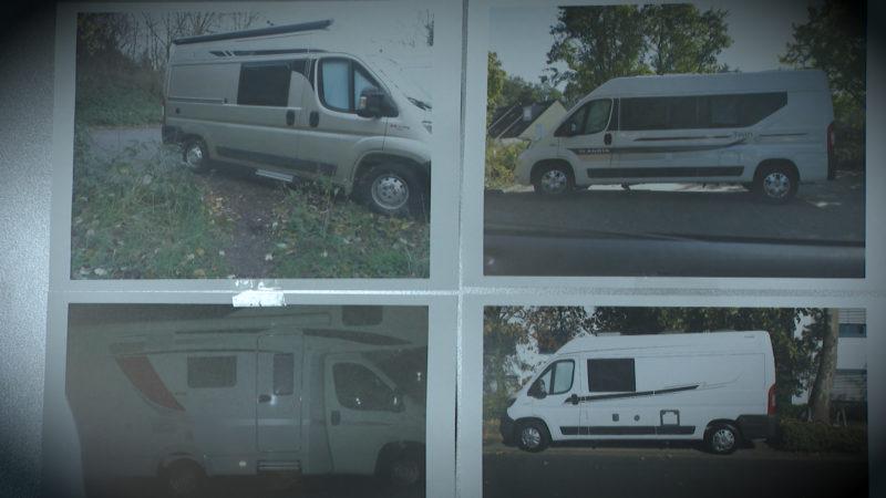 Wohnwagen im Millionenwert gestohlen (Foto: SAT.1 NRW)