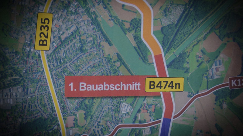 Spatenstich in Datteln (Foto: SAT.1 NRW)