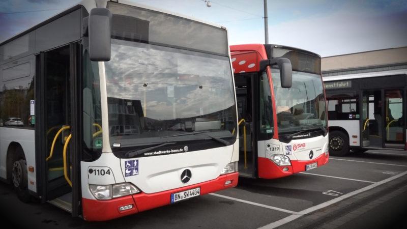 Zu wenig Busfahrer in NRW (Foto: SAT.1 NRW)