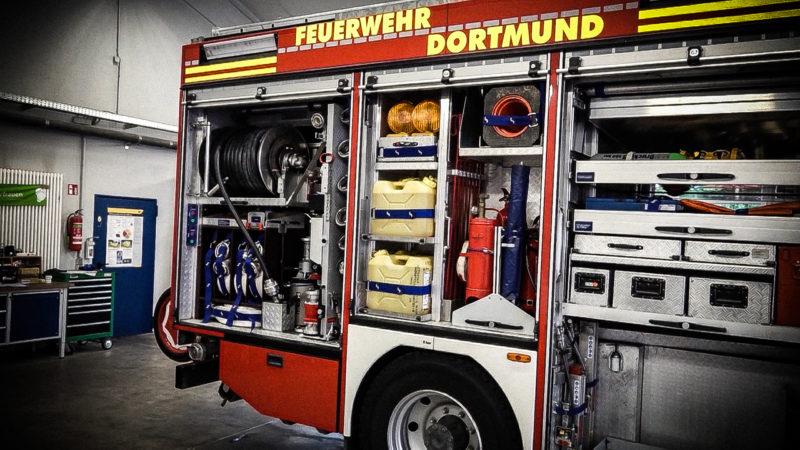 Feuerwehr bestohlen (Foto: SAT.1 NRW)