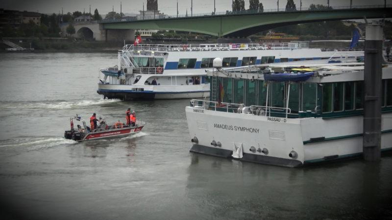 Vermisste Frau im Rhein (Foto: SAT.1 NRW)