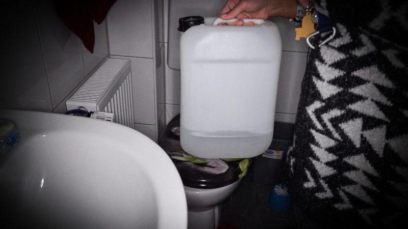Mieter ohne Strom und Wasser (Foto: SAT.1 NRW)