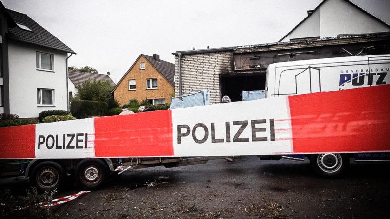 Mysteriöser Unfall in Höxter (Foto: SAT.1 NRW)