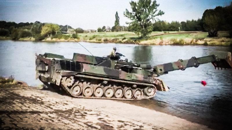 Bundeswehr-Action in Minden (Foto: SAT.1 NRW)