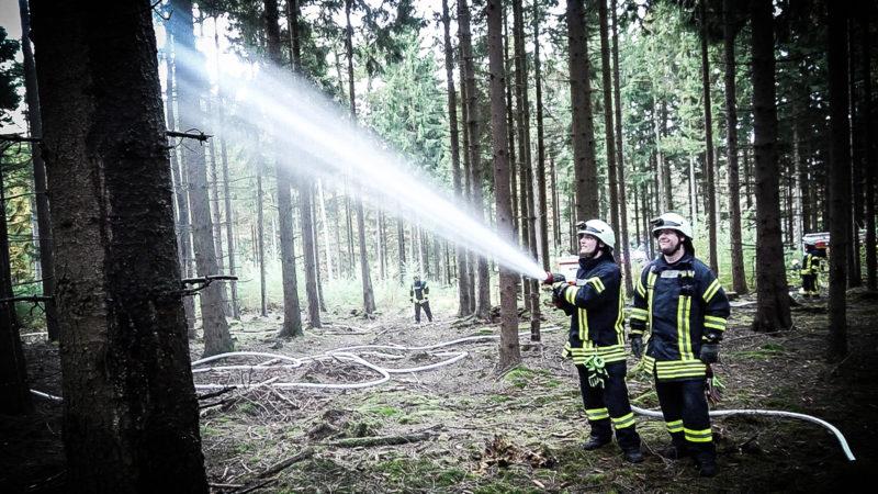Hohe Waldbrandgefahr in NRW (Foto: SAT.1 NRW)