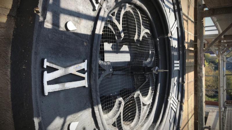 Uhrzeiger gestohlen (Foto: SAT.1 NRW)