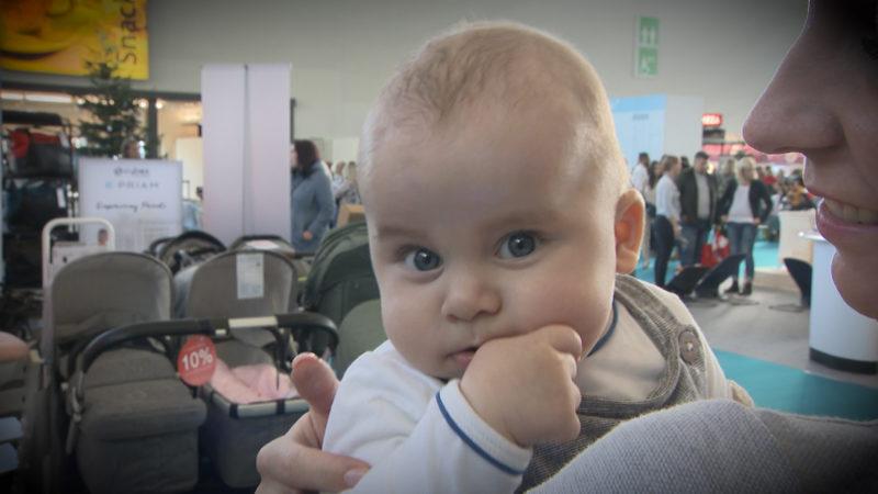 Baby-Messe gestartet (Foto: SAT.1 NRW)