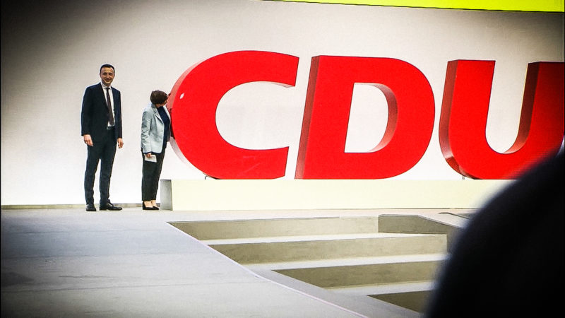 CDU-Parteitag in Leipzig (Foto: SAT.1 NRW)