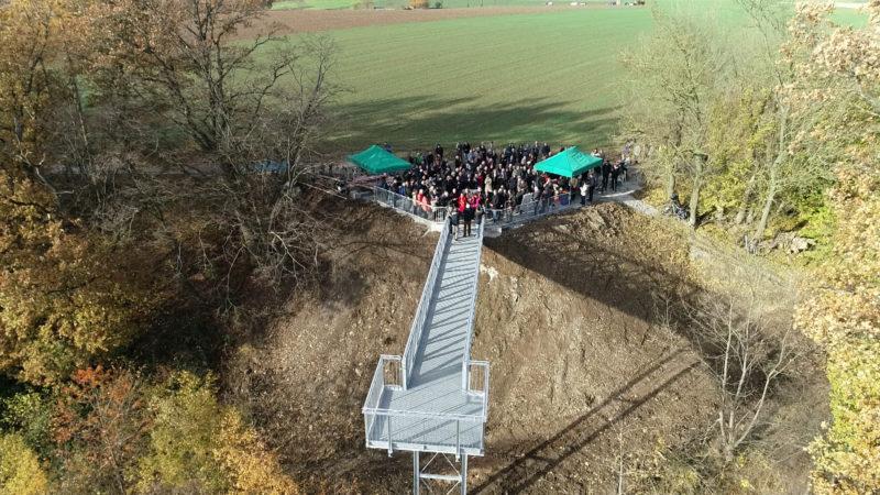 Skywalk in Warstein eröffnet (Foto: SAT.1 NRW)