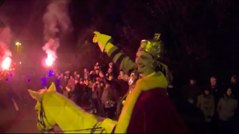 So feiert Kempen St. Martin (Foto: SAT.1 NRW)