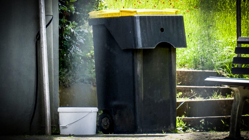 Baby im Müllsack (Foto: SAT.1 NRW)