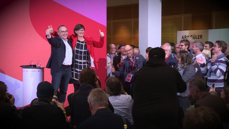 Neuer SPD Vorsitzender kommt aus Nordrhein-Westfalen (Foto: SAT.1 NRW)