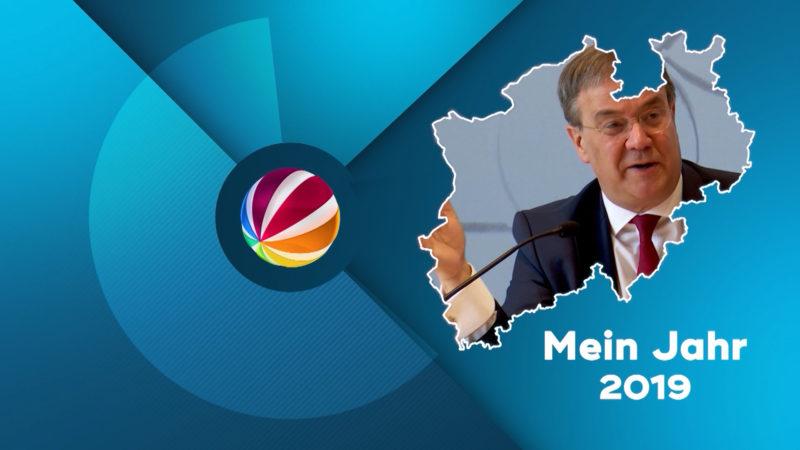 Armin Laschet: Mein Jahr 2019 (Foto: SAT.1 NRW)