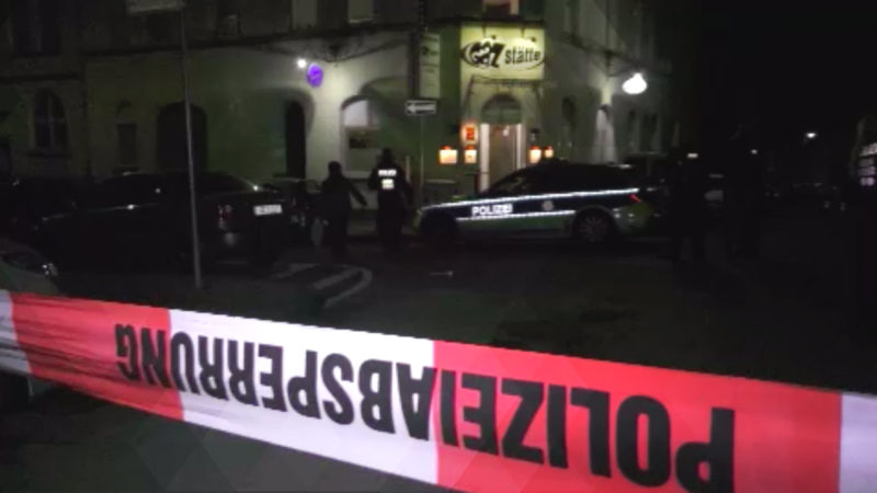 Polizisten erschießen jungen Mann (Foto: SAT.1 NRW)