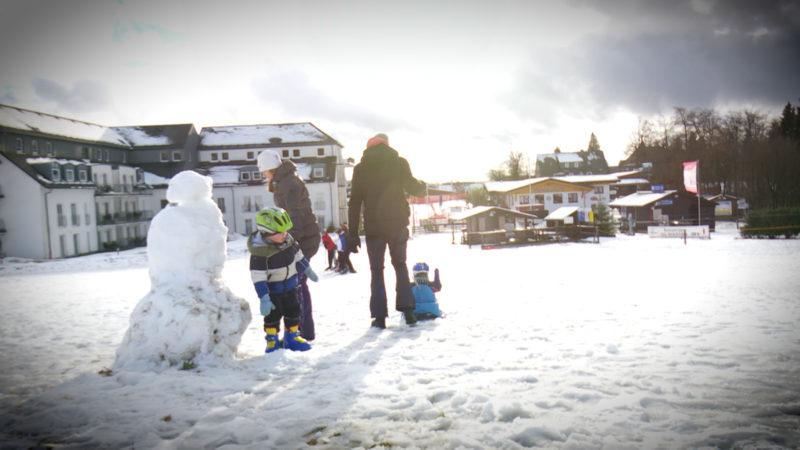 Skisaison gestartet (Foto: SAT.1 NRW)