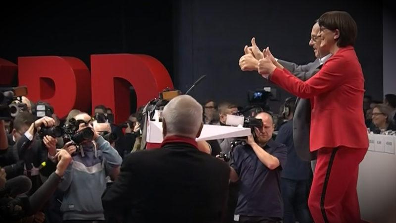 SPD Parteitag in Berlin (Foto: SAT.1 NRW)