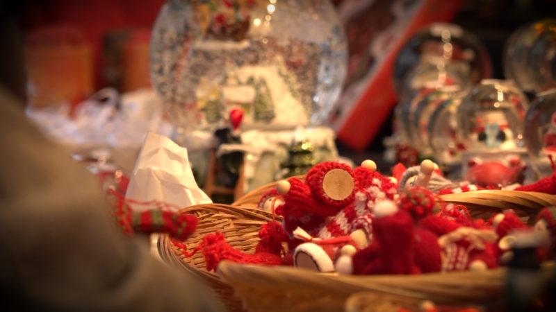 Kontrollen auf dem Weihnachtsmarkt (Foto: SAT.1 NRW)