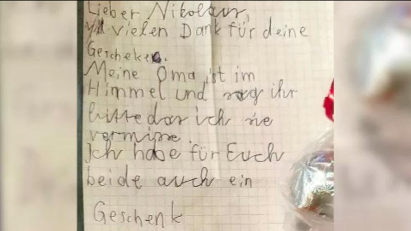 Der traurig-schönste Wunschzettel der Welt (Foto: SAT.1 NRW)