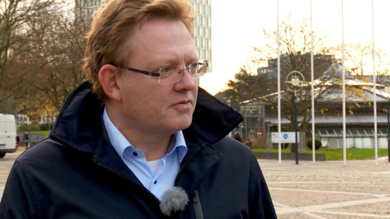 Hollstein kandidiert in Dortmund (Foto: SAT.1 NRW)