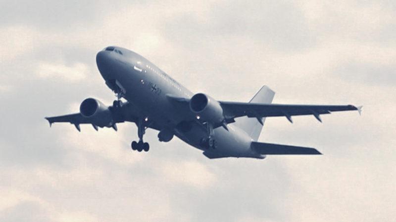 Coronavirus: Luftwaffe holt Deutsche aus China zurück (Foto: SAT.1 NRW)