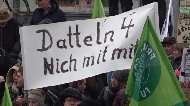 Fridays for Future gegen Datteln IV (Foto: SAT.1 NRW)