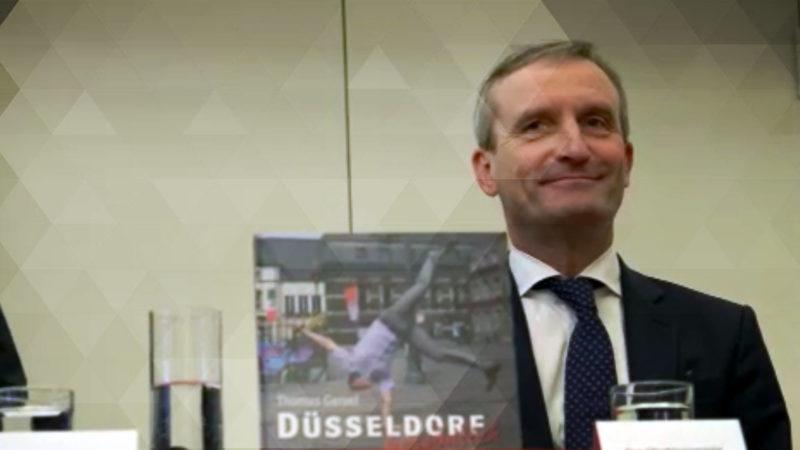 OB Geisel präsentiert Buch (Foto: SAT.1 NRW)