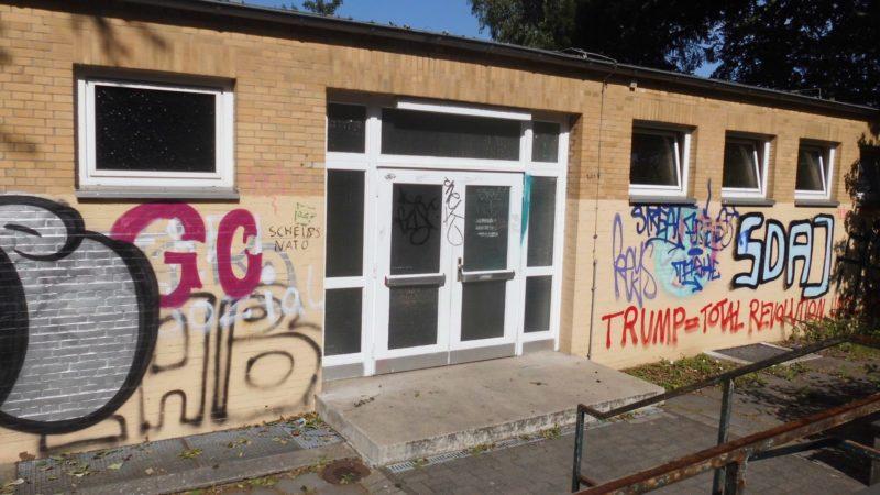 Graffitis und Vandalismus nehmen zu (Foto: SAT.1 NRW)
