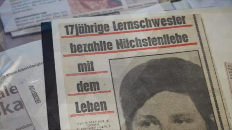 Meschede gedenkt Pocken-Opfern (Foto: SAT.1 NRW)