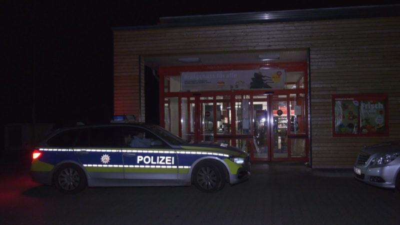 Überfall im Supermarkt (Foto: SAT.1 NRW)